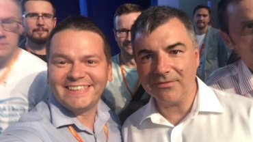 With Konstantin Novoselov