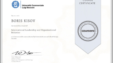 International Leadership and Organizational Behavior