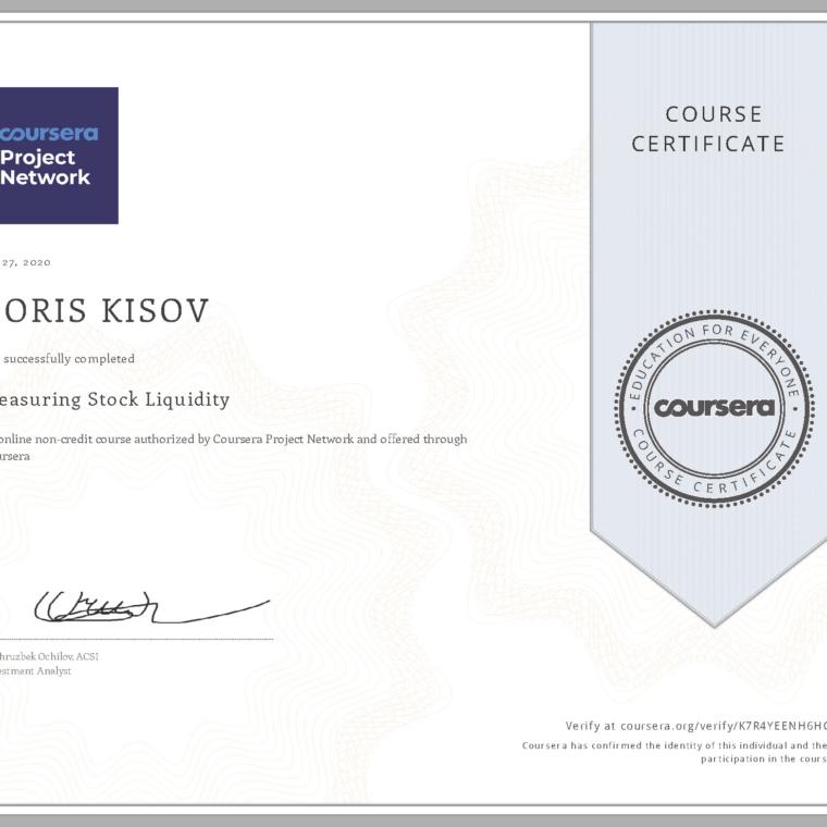 Measuring Stock Liquidity