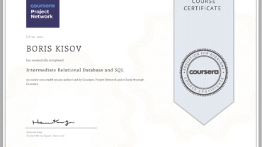 Intermediate Relational Database and SQL