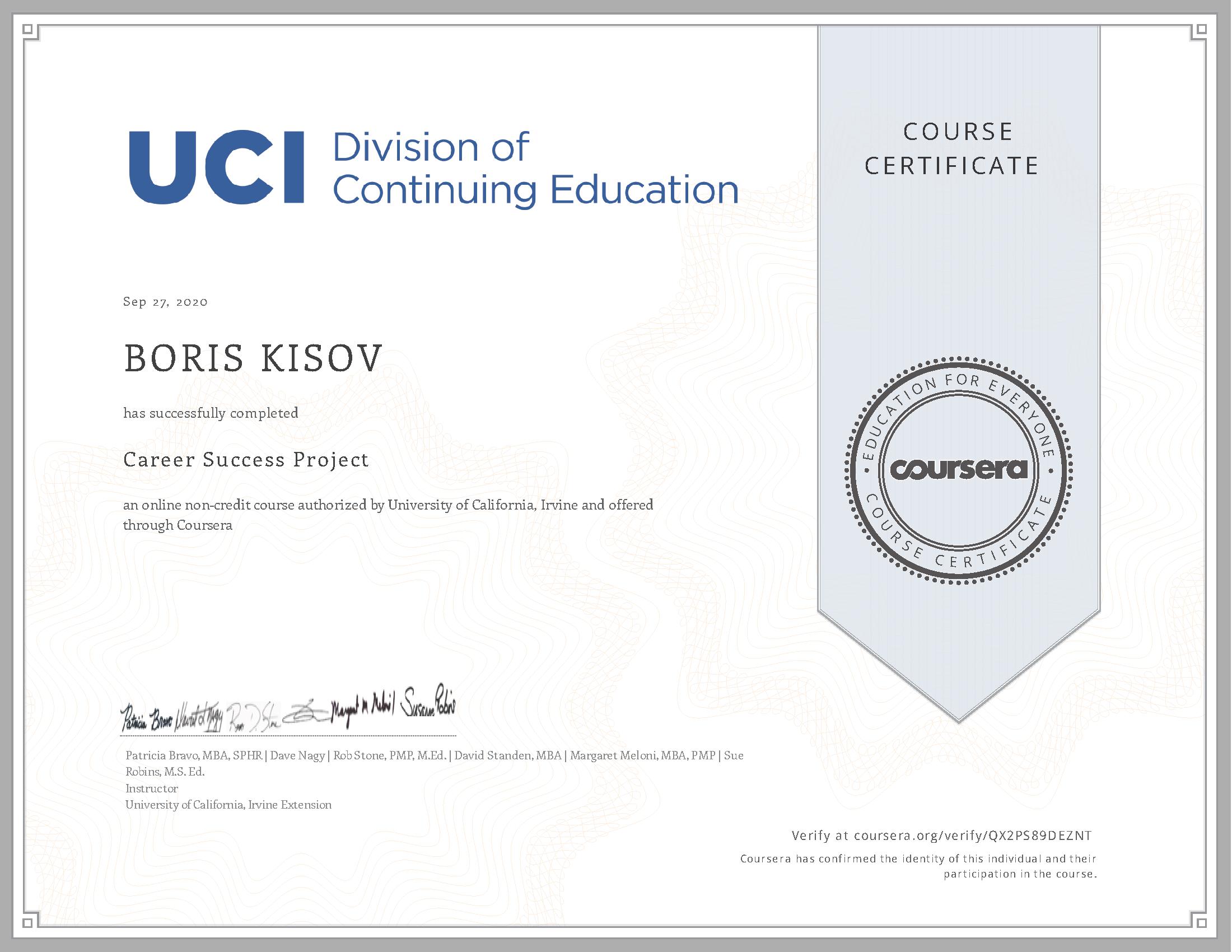 Career Success Project