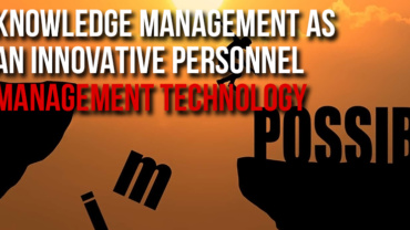 Knowledge management as an innovative personnel management technology