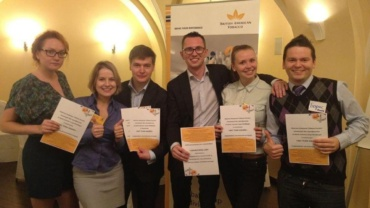WON «WIN & BEGIN 2013» NATIONAL BUSINESS CASE COMPETITION.